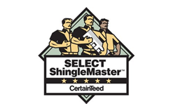 SELECT ShingleMaster CertainTeed Logo