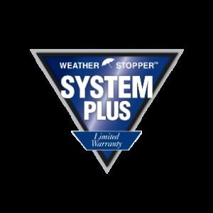 Weather Stopper System Plus Limited Warranty Logo